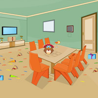Free online flash games - Thanksgiving Party House Escape game - WowEscape