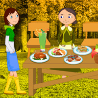 Free online flash games - Thanksgiving Trapped Guest Rescue game - WowEscape