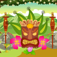 Free online flash games - Tikiforest Butterfly Escape game - Games2Rule