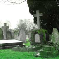 Free online html5 games - Town of Cemetery Escape game - Games2rule