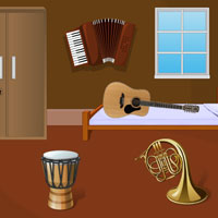 Free online flash games - Traditional Music House Escape game - WowEscape