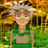 Free online flash games - Tribeman Village Escape