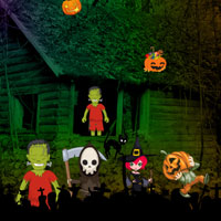 Free online flash games - Trick or Treat Escape game - WowEscape