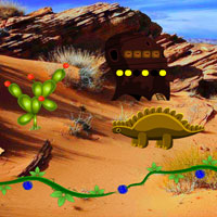 Free online flash games - Tropican Desert Escape game - WowEscape