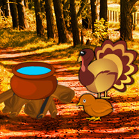 Free online flash games - Turkey Forest Return Escape game - WowEscape