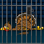 Free online flash games - Turkey on Jail game - WowEscape