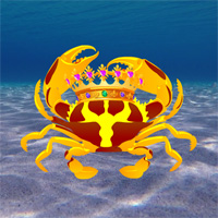 Free online flash games - Underwater King Crab Rescue game - WowEscape