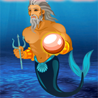 Free online flash games - Underwater Poseidon Escape game - WowEscape