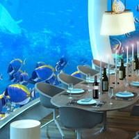 Underwater World Lounge Escape