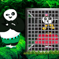 Free online html5 games - Valentine Panda Rescue game