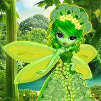 Free online flash games - Vegetable World Fairy Rescue game - WowEscape
