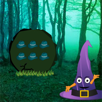Free online flash games - Wicked Hat Forest Escape