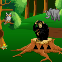 Free online flash games - Wild Animal in the Forest Escape game - WowEscape