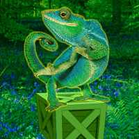 Free online flash games - Wild Chameleon Forest Escape game - WowEscape