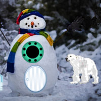 Free online flash games - Winter Snowman Escape game - WowEscape