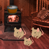 Free online flash games - Wood Mouse House Escape game - WowEscape