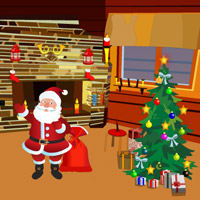 Free online flash games - Xmas Santa Room Escape game - WowEscape
