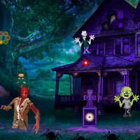 Free online html5 games - Zombies Abandoned Graveyard Escape game