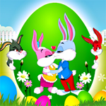 Free online flash games - Bunny Kiss-2 game - WowEscape