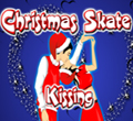 Christmas Skate Kissing