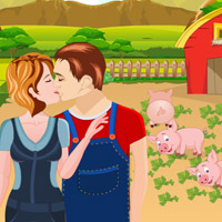 Free online flash games - Farm Kissing-4 game - Games2Rule