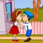 Free online flash games - Girlfriend's First Kiss game - WowEscape