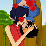 Free online flash games - Kiss Of The Love game - WowEscape