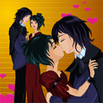 Free online flash games - Kiss on Dancing game - WowEscape