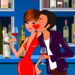 Free online flash games - Night Club Kiss game - WowEscape
