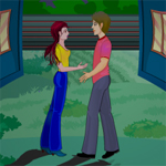 Free online flash games - Night Time Kiss game - WowEscape