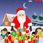 Free online flash games - Santa Gift Theft game - WowEscape