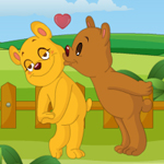 Free online flash games - Teddy Love Kiss game - WowEscape