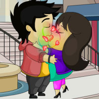 Free online flash games - Top Secret Kiss game - Games2Rule