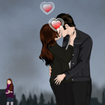 Free online flash games - Twilight Saga-Breaking Dawn Kissing 2 game - WowEscape