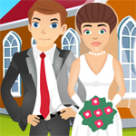 Free online flash games - Wedding Kiss game - WowEscape