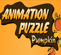 Free online flash games - Animation Puzzle Pumpkin game - WowEscape