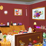 Free online flash games - Bed Room game - Escape