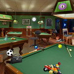 Free online flash games - Billiards Room Objects game - WowEscape