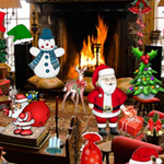 Free online flash games - Christmas Room Objects game - Escape