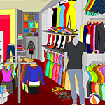 Free online flash games - Dress Shop game - WowEscape