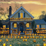 Free online flash games - Halloween House game - WowEscape
