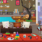 Free online flash games - Happy Living Room game - WowEscape