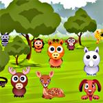 Free online flash games - Hidden Animals game - WowEscape