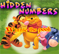 Free online flash games - Hidden Numbers-Winnie the Pooh game - WowEscape