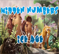 Free online flash games - Hidden Numbers-Ice Age game - WowEscape