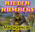 Free online flash games - Hidden Numbers-Madagascar game - WowEscape