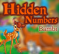 Free online flash games - Hidden Numbers - Bambi game - WowEscape