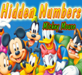 Free online flash games - Hidden Numbers-Mickey Mouse game - WowEscape