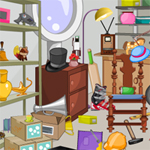 Free online flash games - Hidden Object-Garage Room game - WowEscape
