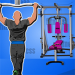 Free online flash games - Hidden Objects-Fitness Center game - WowEscape